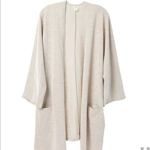 DONNI Rib Sweater Coat